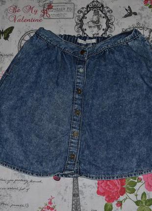 Актуальная джинсовая юбка с пуговицами soulcal&co, размер s