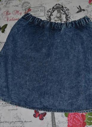 Актуальная джинсовая юбка с пуговицами soulcal&co, размер s2 фото