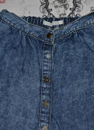 Актуальная джинсовая юбка с пуговицами soulcal&co, размер s3 фото