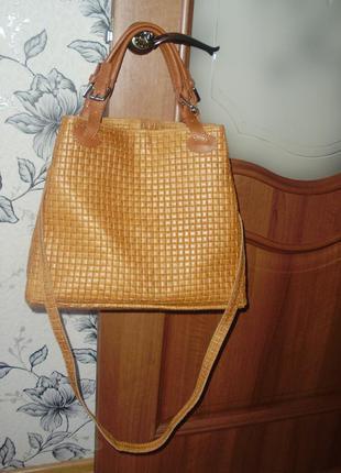 Infinitif (italy) кожаная сумка