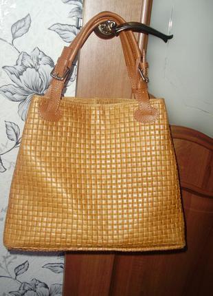 Infinitif (italy) кожаная сумка2