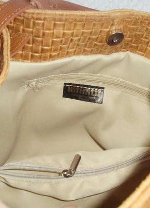 Infinitif (italy) кожаная сумка5