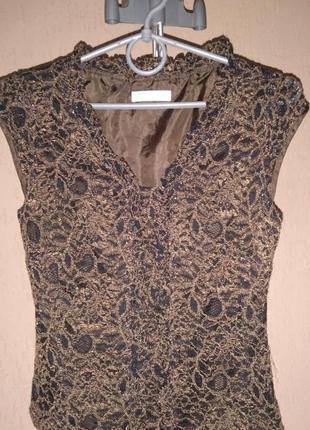 Кружевная блуза на подкладке presis petite