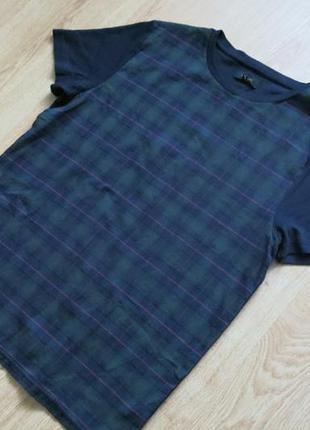 Красивая футболка в клеточку от river island