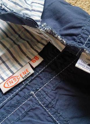 Big sale! новый стильный сарафан комбинезон inscene на 6-18 месяцев4 фото