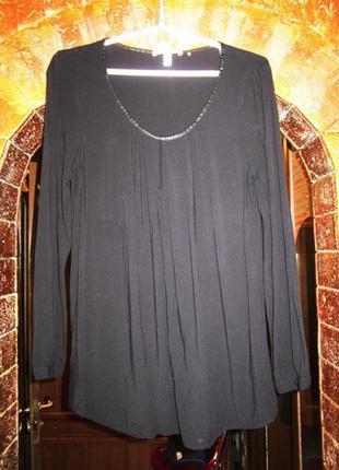 100% вискоза блузка туника от esprit обхват в груди 98+