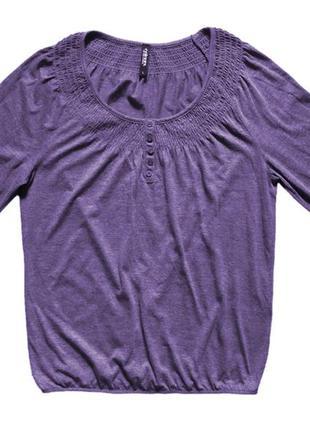 Блуза трикотажная размер l