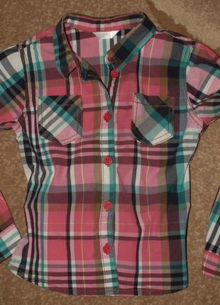 Рубашка для девочки на 5 лет