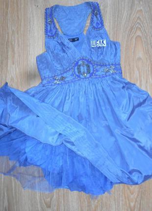 #роскошное шелковое платье с юбкой пачкой #warehouse#нарядное  #вечернее #