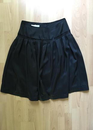 Пышная шелковая юбка