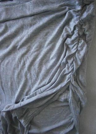 Легкая юбка ассиметрия размер 48-503