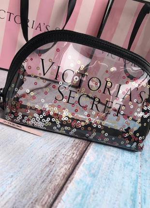 Шикарная большая косметичка от victoria's secret
