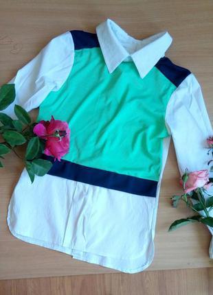 Блуза с пуговками сзади