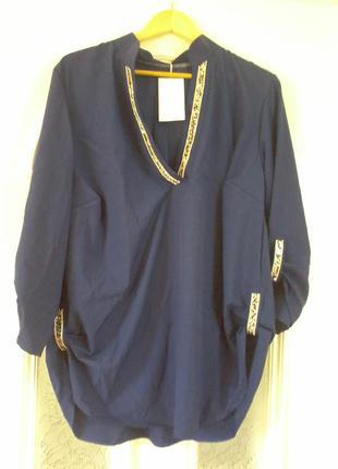 Нарядна блуза р. 56-58