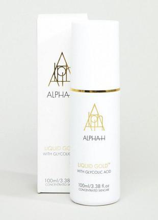 Alpha h gold liquid жидкое золото