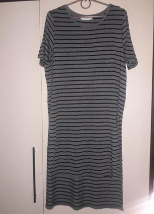 Платье туника с розрезами