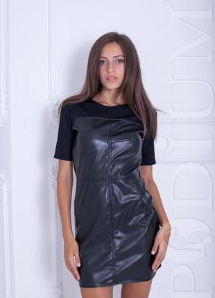 Кожаное платье pomaderris