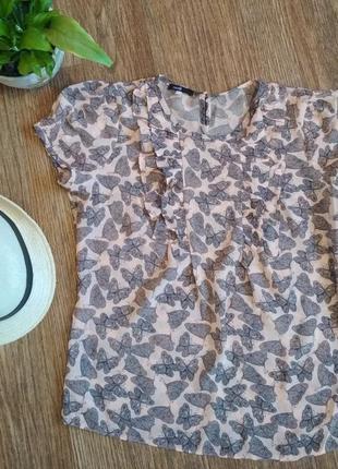 Легкая летняя блуза oodji