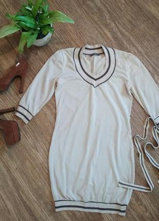 Платье на лето с пояском