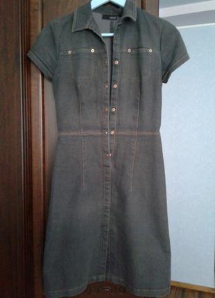 Продам красивое джинсовое платье
