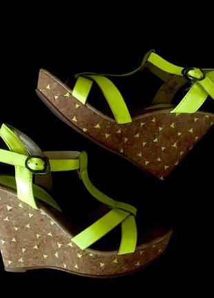 Босоножки   , босоножки на танкетке, летняя обувь