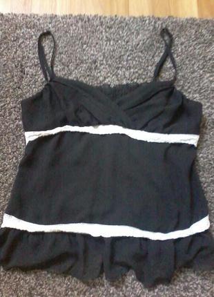 Нарядна шифонова блуза р. 16