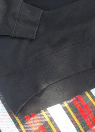 Черное худи new look свитшот толстовка оверсайз2