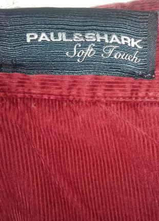 Итальянские вельветовые джинсы paul&shark
