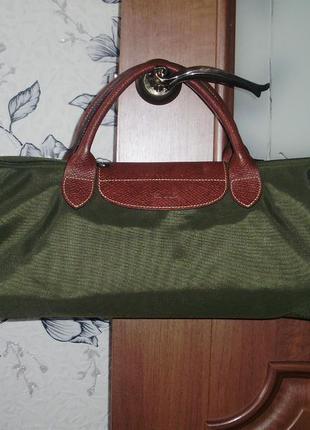 Longchamp le pliage valise - modele depose ( france) чемодан