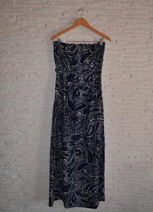Платье в пол f&f