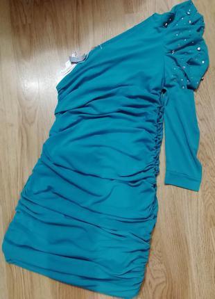 Платье everis на одно плечико, размер s