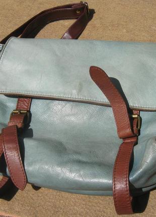 Итальянская сумка натуральная  мягкая кожа pelle vera pelle