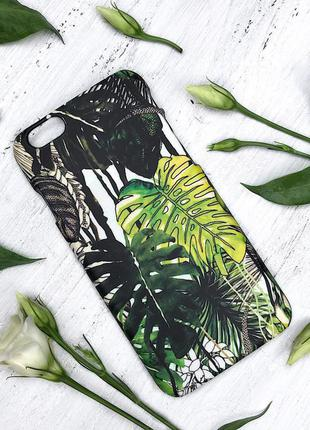 Чехол на iphone с летним принтом пластик и силикон (все фото чехлов по запросу)