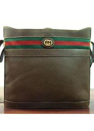 Gucci кожаная сумка через плечо | оригинал