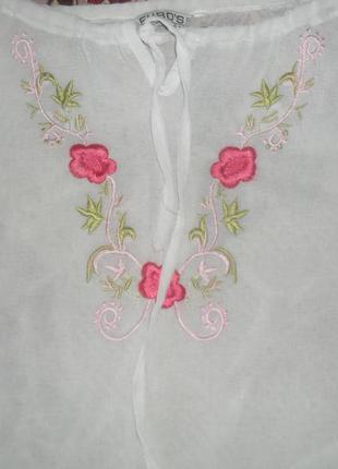 Легкая блузка вышыванка
