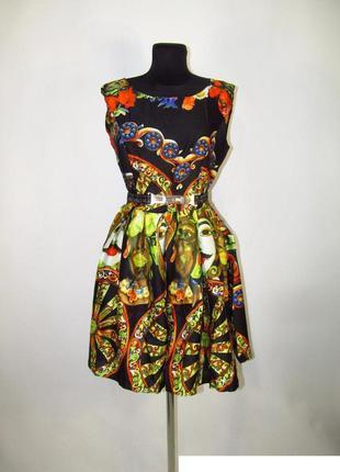 💣лёгкое платье  из тонкого атласа  в продаже без пояса