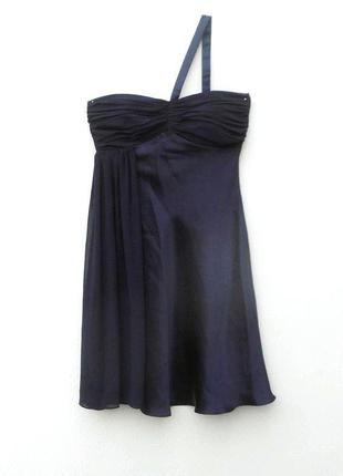 Нарядное вечернее коктейльное летнее платье бюстье