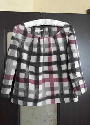 Блуза в клетку