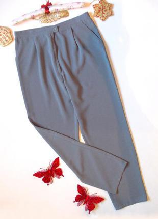 Классические брюки широкие прямые летние высокая талия легкие свободные