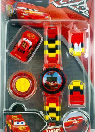 Детские часы  наручные lego тачки