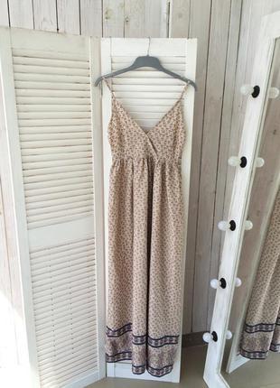 Красивое платье в пол на лето