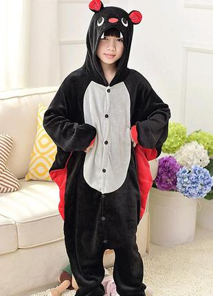 Слип, пижама, костюм на хэллоуин летучая мышь на 4-6 лет