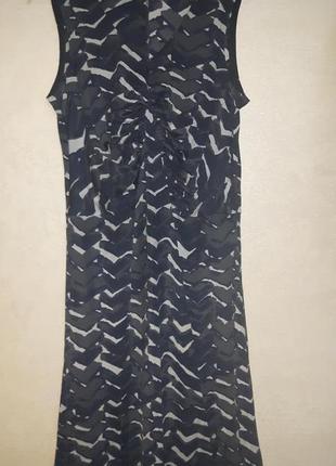Дизайнерское шелковое платье armani collezioni