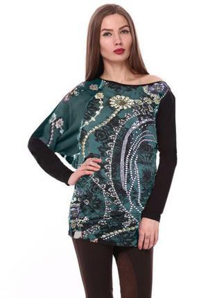 Асимметричная блуза туника