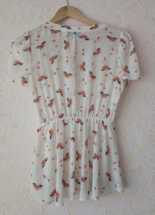 Прозрачная блуза / кофточка
