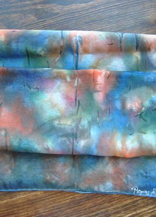 Шелковый шарф платок / шовковий шарфик