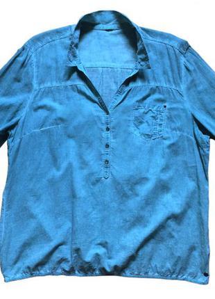 Рубашка блузка женская 100% хлопок