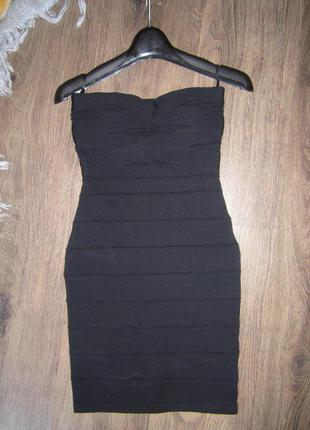 Платье короткое облегающие tally weijl рр32 (xxs) 250грн