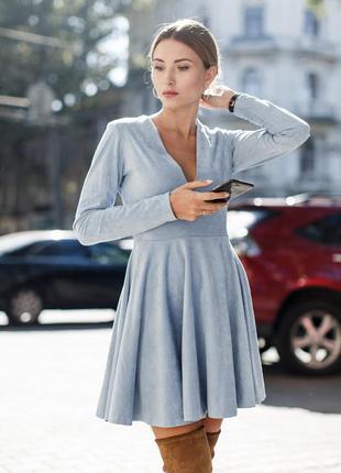 Платье из замши бренда felicity&co