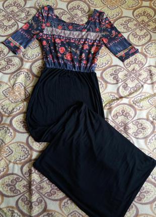 Красивое платье в пол. длинное платье